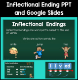 Inflectional Endings PowerPoint and Google Slide
