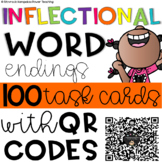 Inflectional Endings QR Code Task Cards