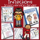 Reading Intervention Binder:  Inflectional Endings