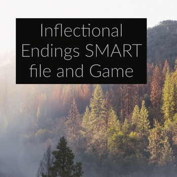 Inflectional Endings SMART file and game