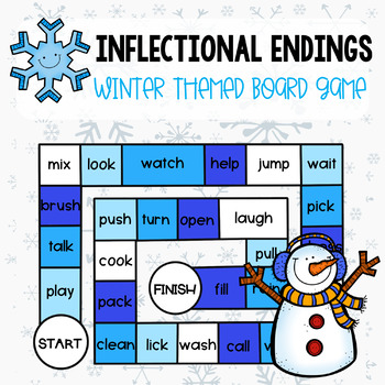 Inflectional Endings Winter Game