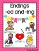 Inflectional Endings ( -ed and -ing) Activities