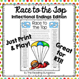 Inflectional Endings {ed, ing, es, s} Gameboards