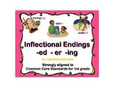 Inflectional Endings -er -ed -ing