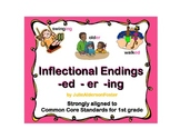 Inflectional Endings -er -ed -ing