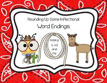 Inflectional Word Endings