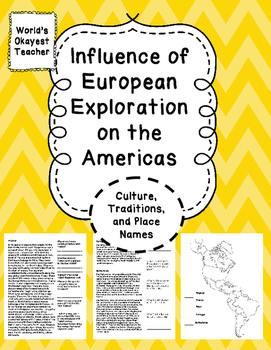 Influence of European Exploration in America