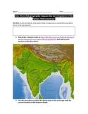 Impact of Geography on India and South Asia Worksheet