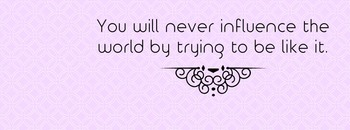 Influence the World Facebook Cover Photo