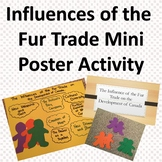 Influences of the Fur Trade Mini Poster Activity
