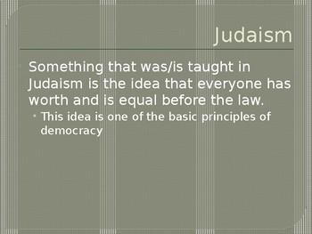Influences on American Democracy