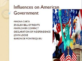 Influences on American Government Mini-Unit