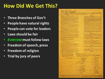 Influences on American Government (PPT)