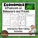 Influences on Behaviors and Prices - Interactive Note-taki