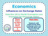 Influences on Exchange Rates - Appreciation & Depreciation - UK & World