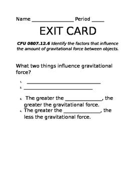 Influences on Gravity