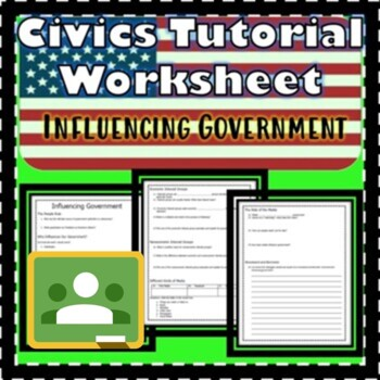 Influencing Government Floridastudents.org Worksheet Civics SS.7.C.2.10 EOC