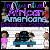 Influential African American Research Biography Posters