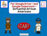 Influential African Americans for Google Classroom™ and Go