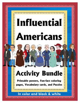 Influential Americans: Activity Bundle
