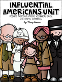 Influential Americans Unit - Interactive Study