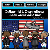 Black History Month Activities BUNDLE: Coleman, Carver, Bethune, Marshall & More