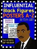 Black Figures A to Z Inspirational Posters