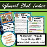 Influential Black Leaders / Black History Month