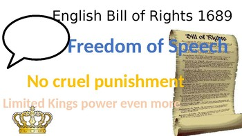 Influential Documents Civics Poster Review SS.7.C.1.2