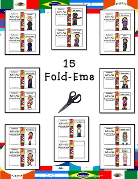 Influential Hispanic Americans Mini Research Fold-Ems and Activities