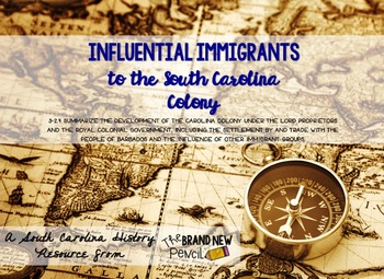 Influential Immigrants of the South Carolina Colony || SC Social Studies 3-2.4