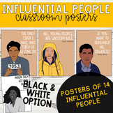 Influential People Classroom Posters (Pack 1)