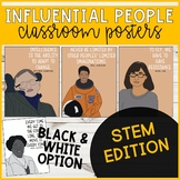 Influential People Classroom Posters (STEM Edition)