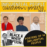 Influential People Posters (Pack 2)