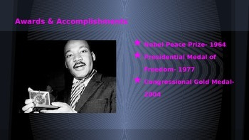 Influential People Project- Exemplar Project