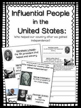 Influential People in the United States