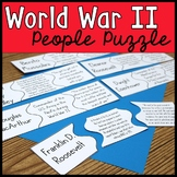 People of World War II Puzzle Activity