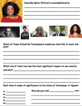Influential Tennesseans from 20th Century Bundle
