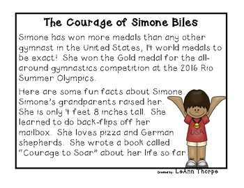 Influential Women:  The Courage of Simone Biles