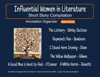 Influential Women in Literature: Short Story Compilation