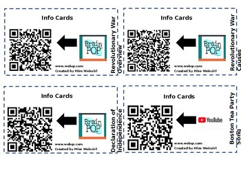 Info Card Editable (Example: Revolutionary War)
