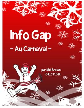 Info Gap - Au Carnaval (oral partner activity)