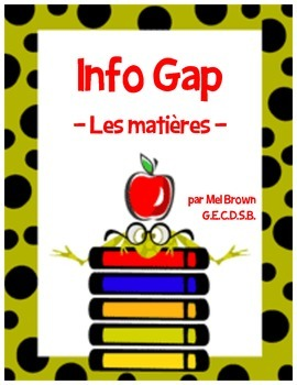 Info Gap - École (School partner activity)