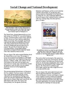 Info Read Text-1800's National Development: Social Change