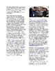 Info Reading Text/Vocab - 9/11: Reaction to 9/11 (no prep/sub plans)