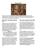 Info Reading Text - American Revolution: Betsy Ross (no prep/sub plan)