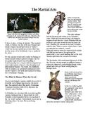Info Reading Text - Ancient Japan: The Martial Arts (No Prep/Sub Plans)