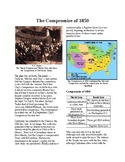 Info Reading Text - Before the Civil War: Compromise of 1850 (no prep/sub plan)