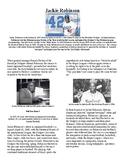 Info Reading Text - Black History Month: Jackie Robinson (no prep/sub plans)