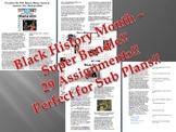Info Reading Text - Black History Month Super Bundle - SAVE OVER $20!!